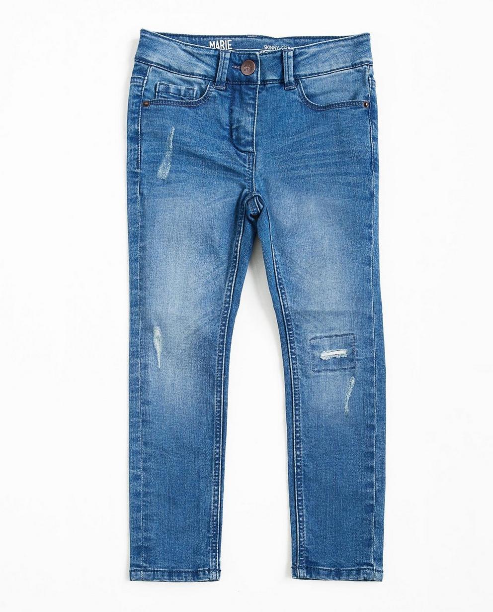 Destroyed Skinny-Jeans - mit Waschung - JBC